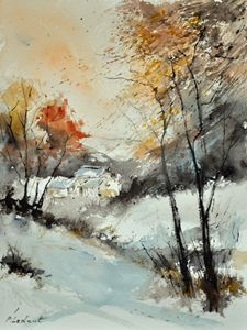 watercolor 216061 - Pol Ledent's paintings