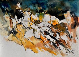 watercolor 210152 - Pol Ledent's paintings