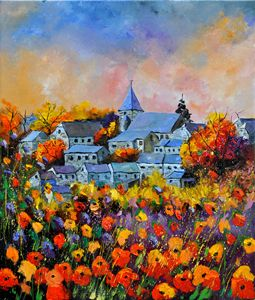 Autumn in Awagne - Pol Ledent's paintings