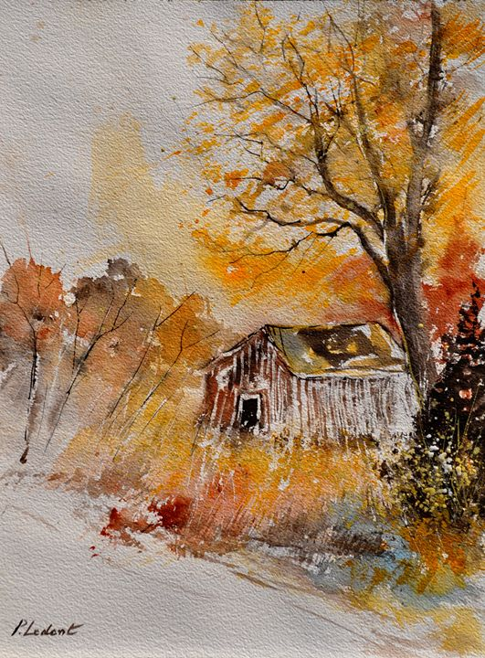 watercolor 216090 - Pol Ledent's paintings