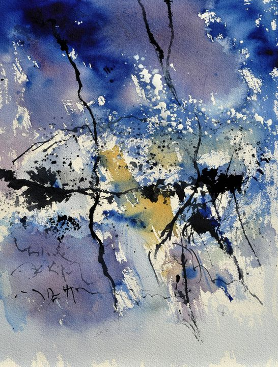 abstract watercolor 2180 - Pol Ledent's paintings
