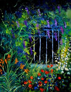 Garden 4521 - Pol Ledent's paintings