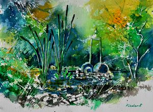 watercolor 215092 - Pol Ledent's paintings