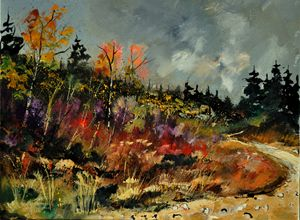 autumn 450152 - Pol Ledent's paintings