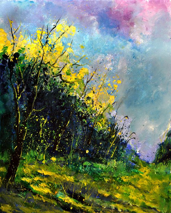 spring 4521 - Pol Ledent's paintings