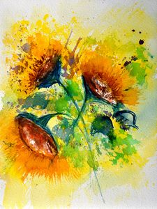 watercolor 210132 - Pol Ledent's paintings
