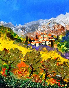 provence 452150 - Pol Ledent's paintings