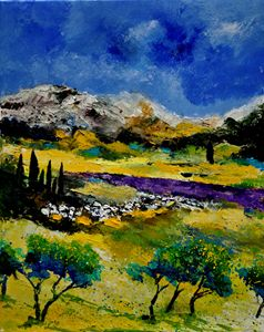 Provence 452121 - Pol Ledent's paintings