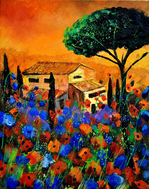 Tuscany 4521 - Pol Ledent's paintings