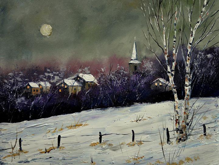 winter 45212 - Pol Ledent's paintings