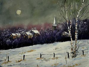 winter 45212 - Pol Ledent's paintings