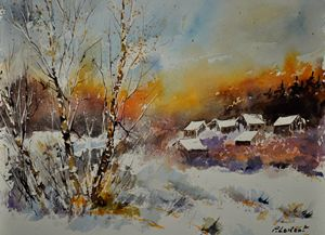 watercolor 212102 - Pol Ledent's paintings
