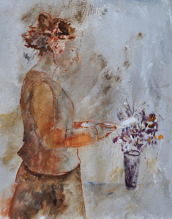 Reading - Pol Ledent's paintings