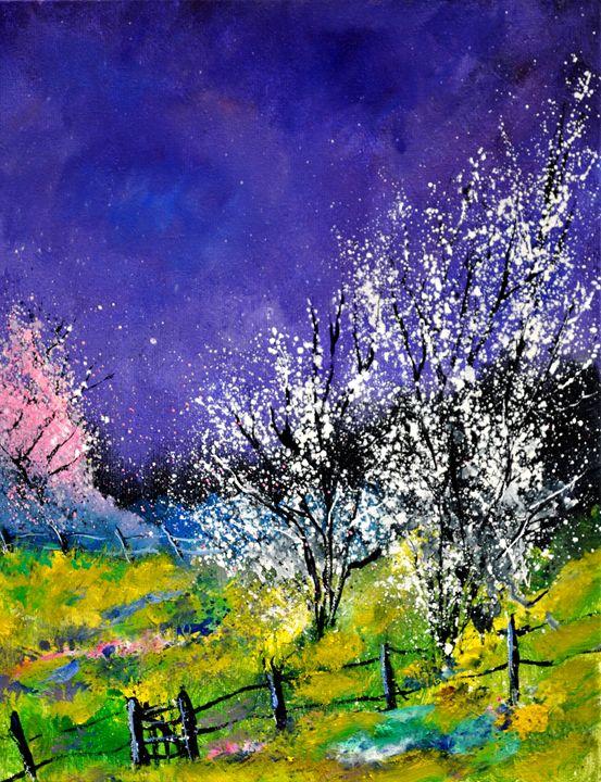 spring 454578 - Pol Ledent's paintings
