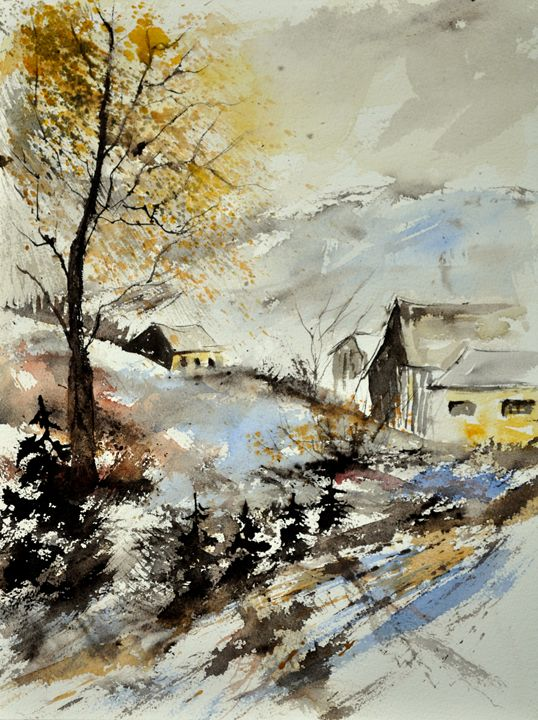 watercolor 213013 - Pol Ledent's paintings
