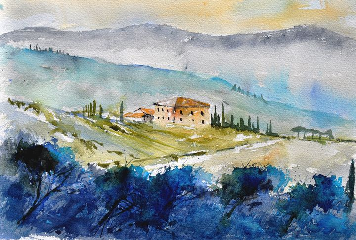 watercolor 5665365 - Pol Ledent's paintings
