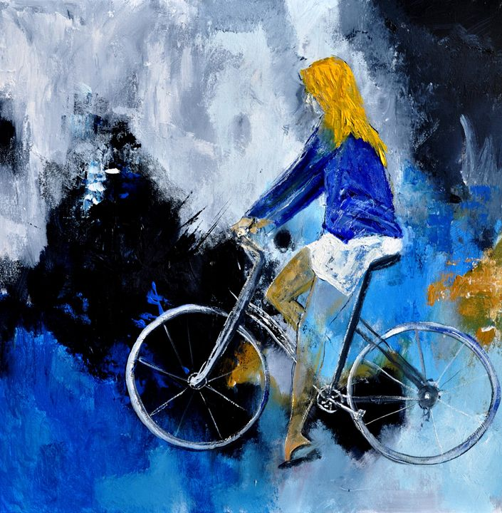 Cycling 77 - Pol Ledent's paintings