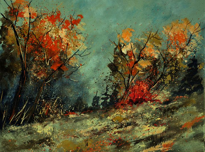 in the wood 452101 - Pol Ledent's paintings