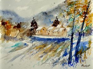 watercolor thynes - Pol Ledent's paintings