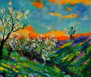 spring 67201 - Pol Ledent's paintings