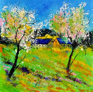 Spring 662130 - Pol Ledent's paintings