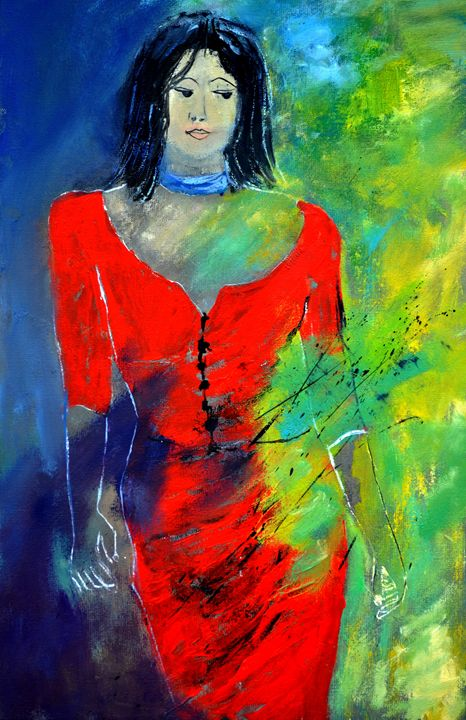Young girl 64 - Pol Ledent's paintings