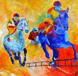 original acryl on canvas stretch
