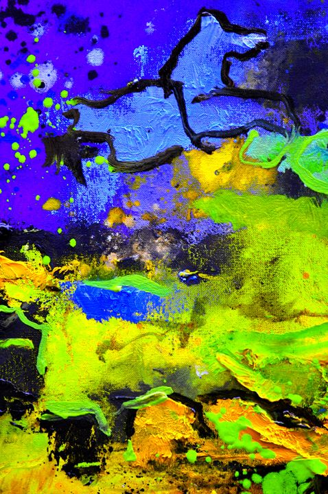 abstract 6931 - Pol Ledent's paintings