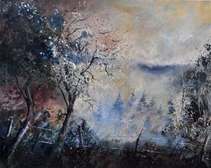 Mist in Famenne - Pol Ledent's paintings