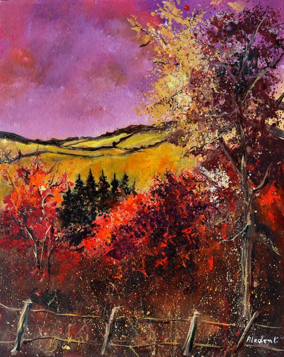 Summer in Wiesma - Pol Ledent's paintings