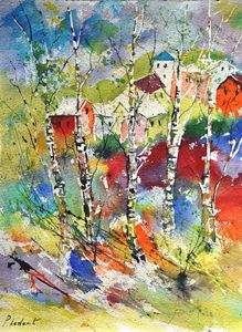 watercolor 319072 - Pol Ledent's paintings