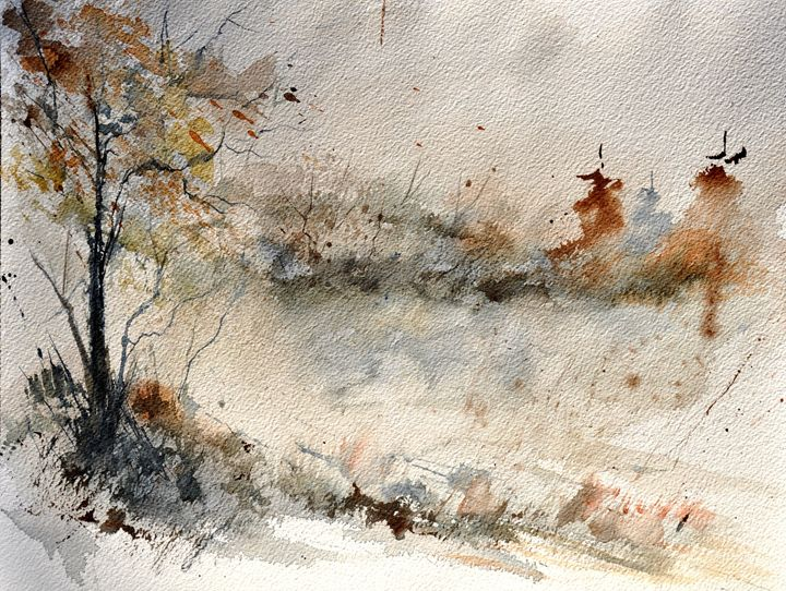 watercolor 319082 - Pol Ledent's paintings
