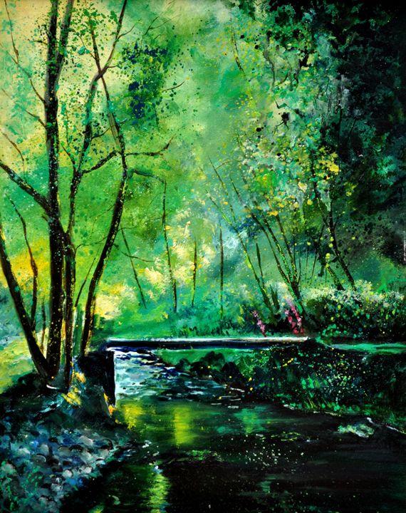 YWOIGNE - Pol Ledent's paintings