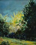 original oil on canvasboard 15.75 x