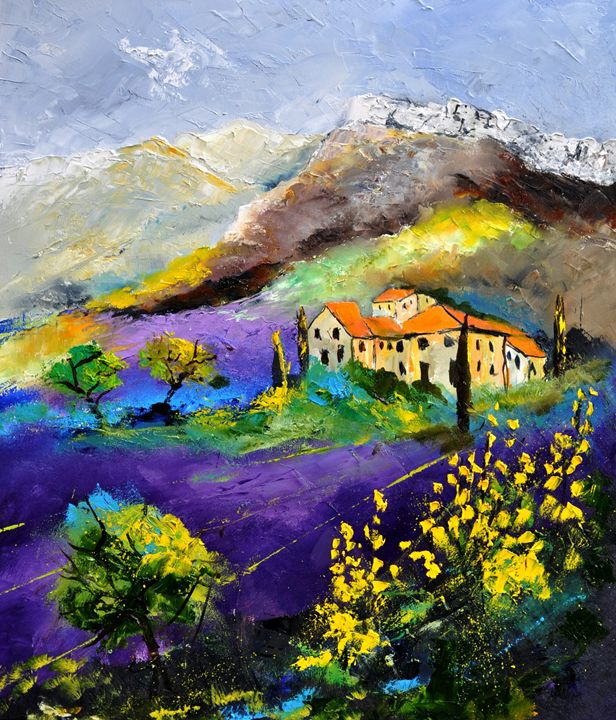 provence 7831 - Pol Ledent's paintings