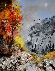 Autumn 453101 - Pol Ledent's paintings