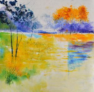 Pond 8821 - Pol Ledent's paintings