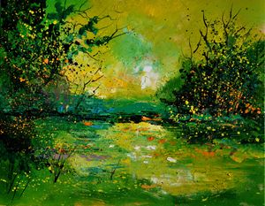 Pond 5431 - Pol Ledent's paintings