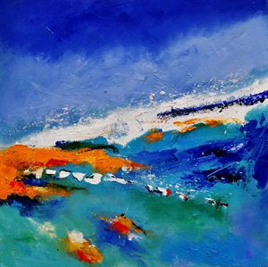 abstract seascape 8831 - Pol Ledent's paintings