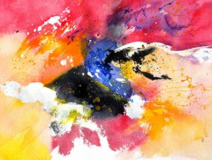 abstract watercolor 017081 - Pol Ledent's paintings