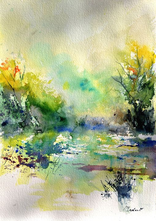 watercolor 45319041 - Pol Ledent's paintings