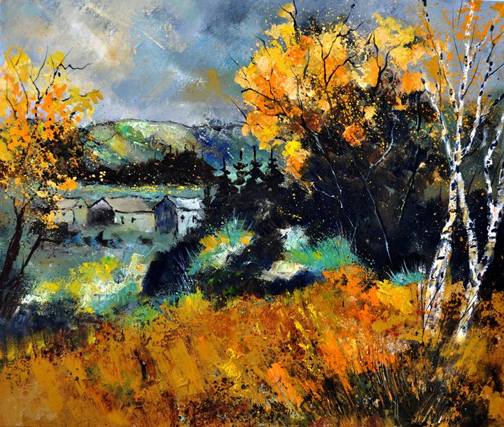 Autumn in Ardennes 67 - Pol Ledent's paintings
