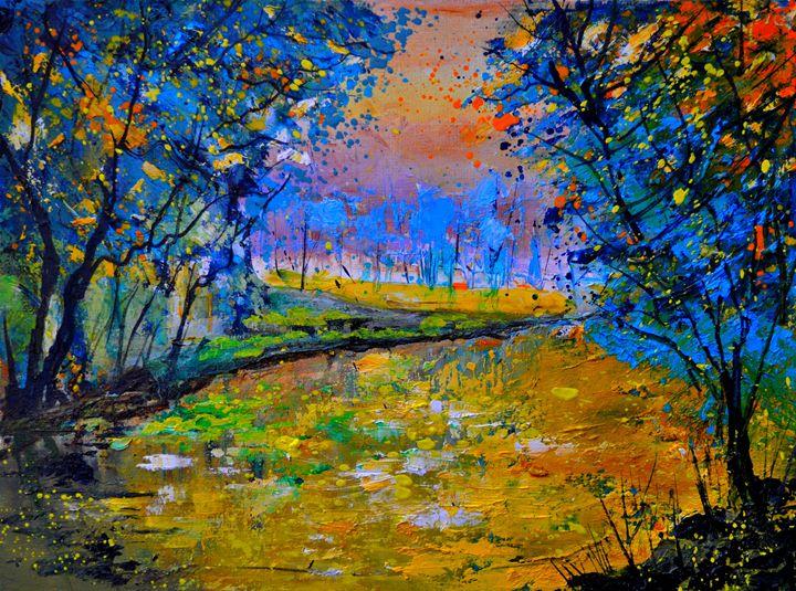 pond 4030 - Pol Ledent's paintings