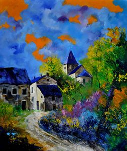 Bagimont in summer - Pol Ledent's paintings