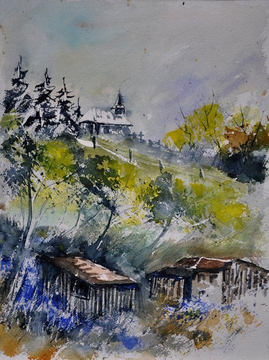 watercolor 412001 - Pol Ledent's paintings