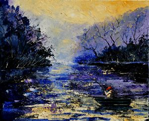 Fishing 56 - Pol Ledent's paintings