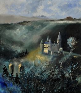 castle of veves - Pol Ledent's paintings