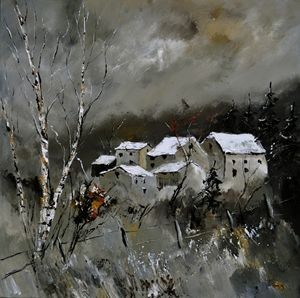 winter 8841 - Pol Ledent's paintings