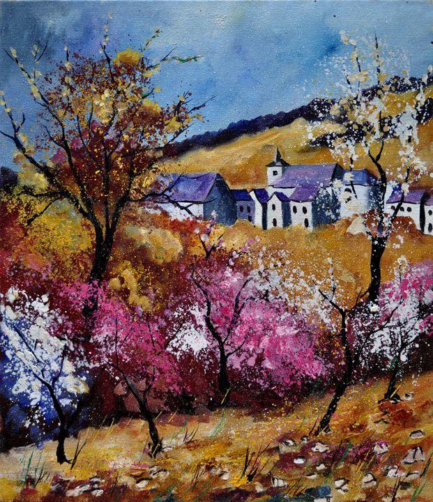spring in sosoye - Pol Ledent's paintings