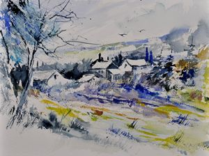 watercolor 413010 - Pol Ledent's paintings